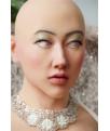 Masque Féminisation Buste Faux Seins Silicone Pour Travesti