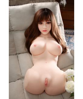 Poupée Buste Silicone Sexuelle Half-Body